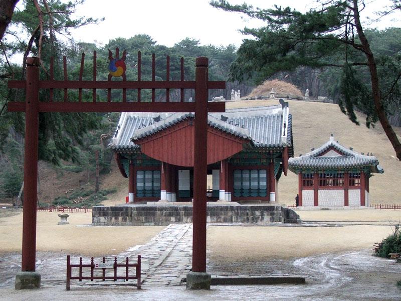 建元陵:朝鮮建国の王太祖李成桂...